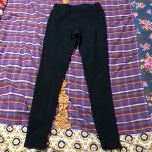 Matilda Jane Cauldron Sandy Pants Black Leggings 435 Size 8 NWT